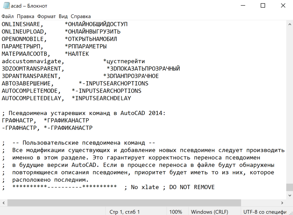 Псевдонимы в AutoCAD. Экспресс курс по AutoCAD в Севастополе.