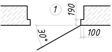 Правила оформления архитектурно-строительных чертежей (по ГОСТ 21.501-93).
