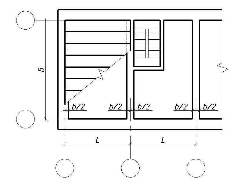 Привязки несущих конструкций к разбивочным осям. Экспресс курс по AutoCAD в Севастополе.